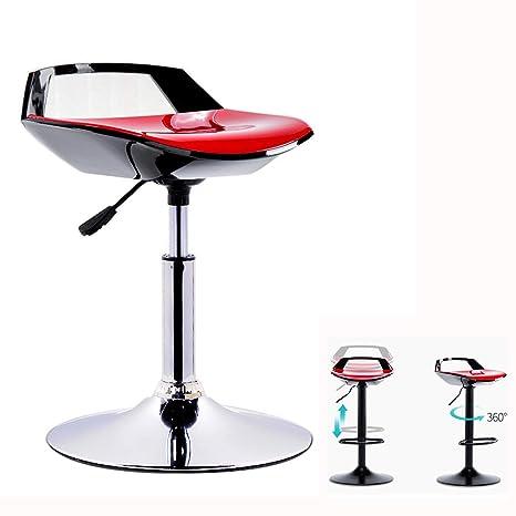 Brilliant Amazon Com Bar Stool Lzpq Elegant Swivel Counter Height Squirreltailoven Fun Painted Chair Ideas Images Squirreltailovenorg