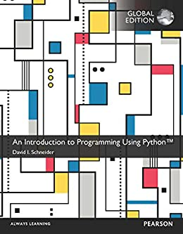 An introduction to programming using python global edition 1 david an introduction to programming using python global edition by schneider david i fandeluxe Images