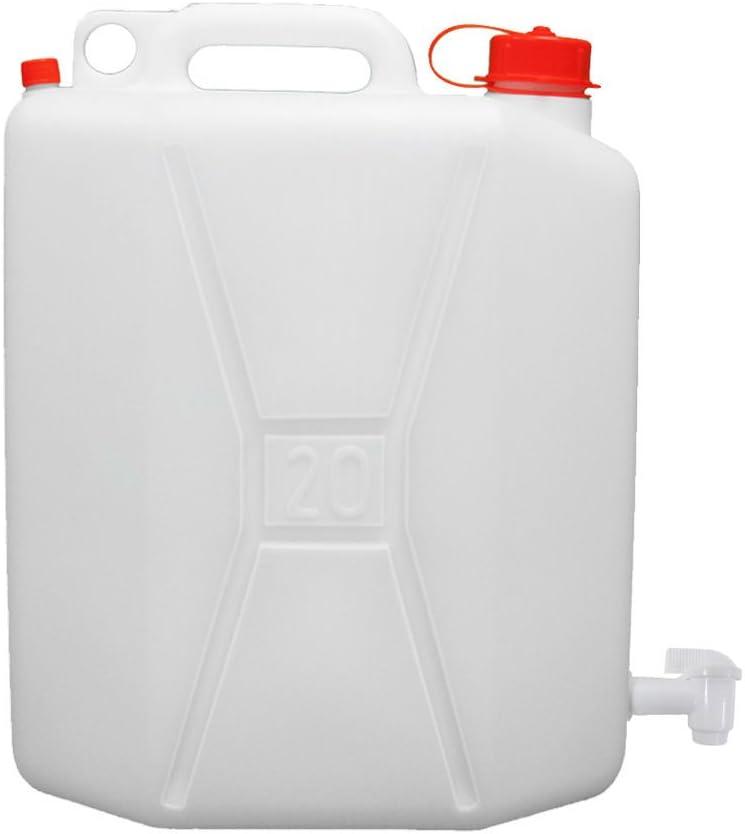 Oryx 8085535 Bidon Garrafa Plastico Alimentario 20 Litros Con grifo