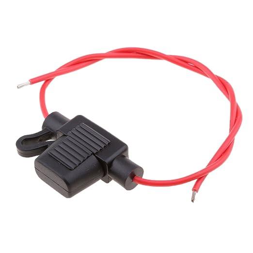 MagiDeal Car Automotive Audio 16 Gauge Waterproof in-line ATO//ATC Blade Fuse Holder