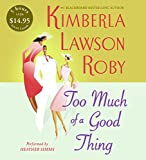 download ebook too much of a good thing cd low price (the reverend curtis black series) pdf epub