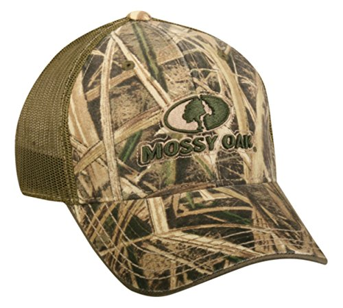[Mossy Oak Adult Shadow Grass Structured Adjustable Hat] (Mossy Oak Shadow Grass Hat)