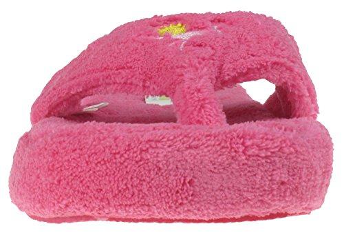 Capelli New York Damer Flamingo Och Sol Designen Inomhus Tofflor Rosa