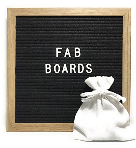 Letter Board With Changeable Letters, Punctuation, Numbers, and Emoji's - 10