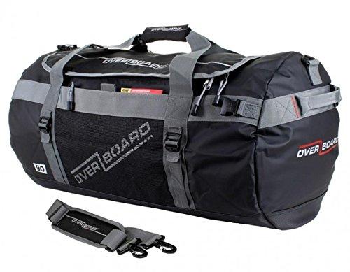 Overboard Watertight Duffle Bag 60 L Adventure Black