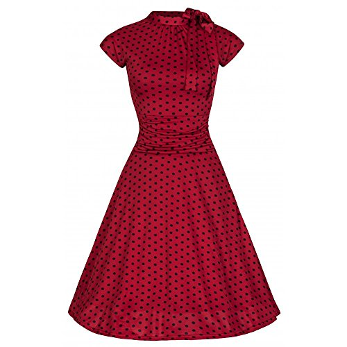 Lindy-Bop-Dottie-Red-Black-Polka-Tea-Dress-With-Sassy-Swishy-Skirt