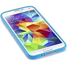 Caseiopeia SimplySafe Ultra Slim Case Premium Flexible TPU Cover for Galaxy S5 - Retail Packaging - Blue