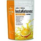 Julian Bakery's InstaKetones® 11.7g GoBHB® Per Scoop +Organic Caffeine (Orange Burst) (1 Pack) (+Caffeine) (30 Servings) Exogenous Ketones