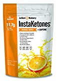 Julian Bakery's InstaKetones 11.7g GoBHB per Scoop +Organic Caffeine (Orange Burst) (1 Pack) (+Caffeine) (30 Servings) Exogenous Ketones