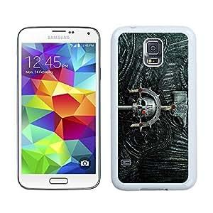 New Unique DIY Antiskid Skin Case For Samsung S5 Warhammer 40K Samsung Galaxy S5 White Phone Case 434