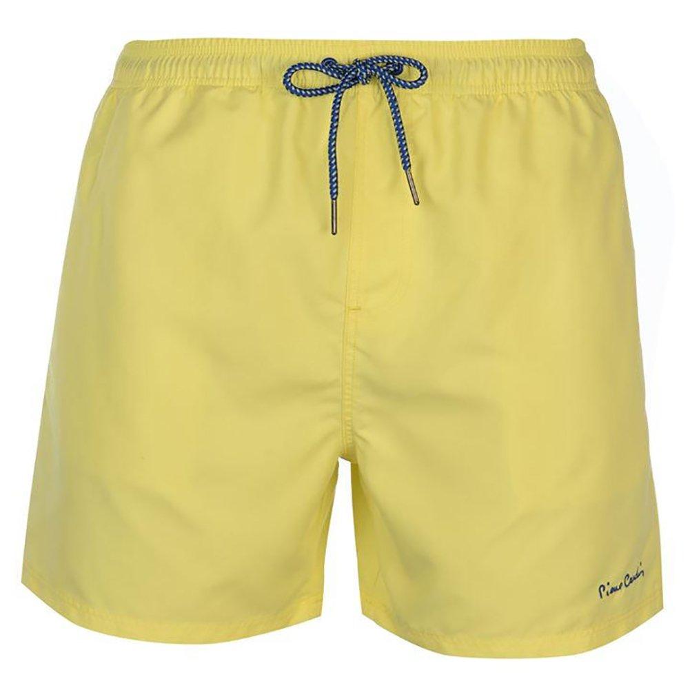 TALLA XXL. Pierre Cardin Pantalones Cortos de Natación Bordados de Firma