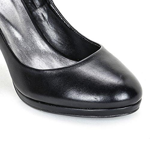 ALESYA by Scarpe&Scarpe - Zapatos de salón con tacón fino Negro
