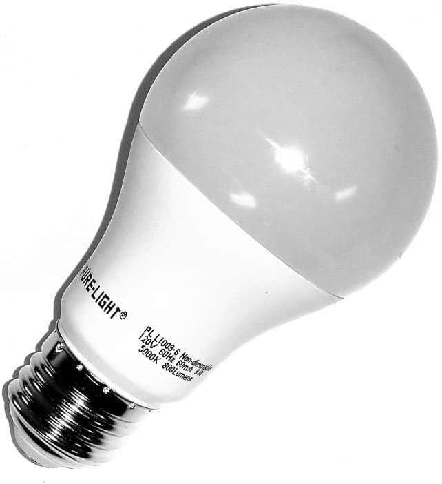 6 Pure-Light Anti-Bacterial /& Anti Pollutant Light Bulbs