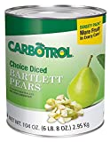 Carbotrol Diced Pear 6 Case 10 Can