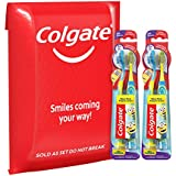 Colgate Kids Minions Soft Toothbrush with Suction Cup, 4 Count