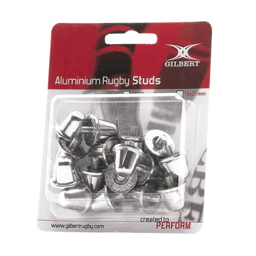 GILBERT aluminium rugby studs [15+18mm mix] 5024686019083