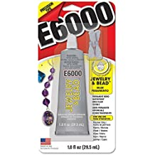 Eclectic Products 242001 8 Pack E6000 Jewelry and Bead Adhesive 1oz
