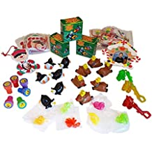Stocking Stuffer Toy and Craft Assortment for up to 6 kids - Toys for boys and girls - 36 pieces