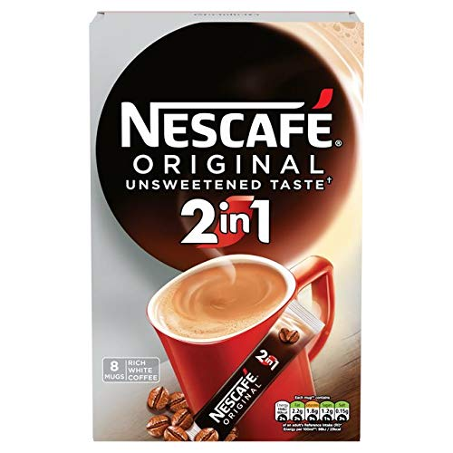Original Nescafe Original 2in1 Coffee Sachets Imported From The UK England British Coffee With An Unsweetend Taste NESCAFÉ Original 2in1 Strong Instant Coffee Sachets'