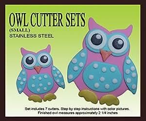 Owl Cutter Set (Small)