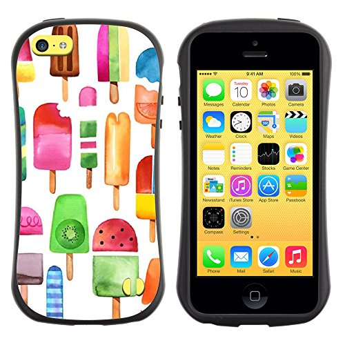 iphone 5c case ice cream cone - 6