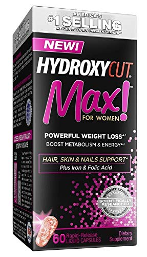 Hydroxycut Max for Women Powerful Weight Loss