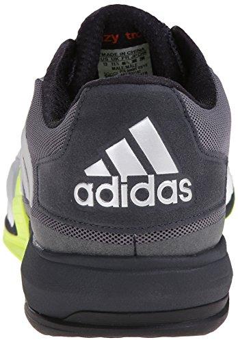 adidas Rendimiento Hombre CrazyTrain Boost Shoe ejercicios Dark Grey/Silver/Solar Yellow