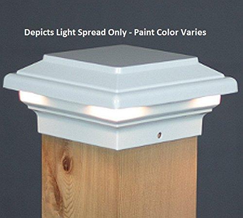 Cheap Neptune LED Deck 4″ Post Light (4X4) – White ( Aurora RLX-6040 )