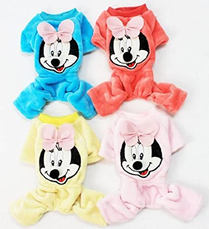 Buy Cute Puppy Clothing Mickey Mouse Sweat Shirt Sweaters For Dog S