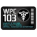 PSYCHO-PASS Public Security Bureau PVC patch
