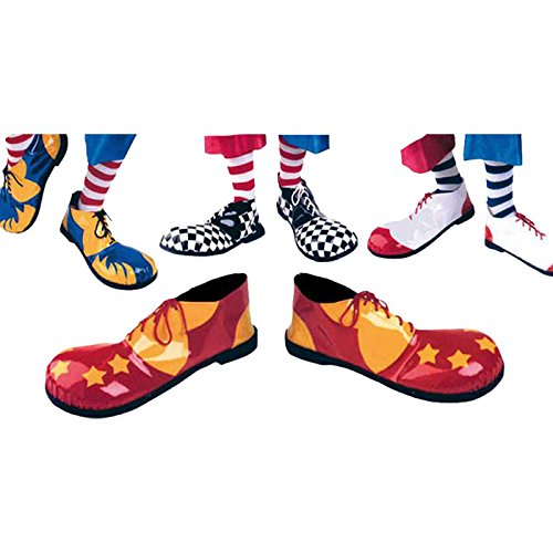 Clown Shoes Professional Rubber Sole Accessory For Circus Fancy Dress (Professional Clown Shoes)