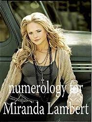 Numerology for Miranda Lambert