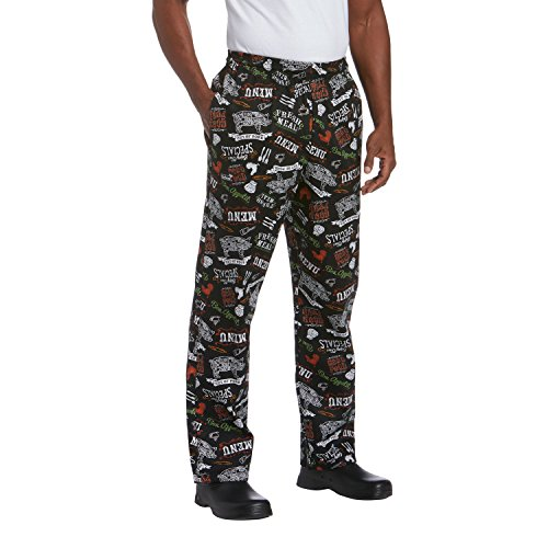 Chefwear 3500-250 Men's Ultimate Chef Pant L Prime Cuts (Chef Ultimate Pants)