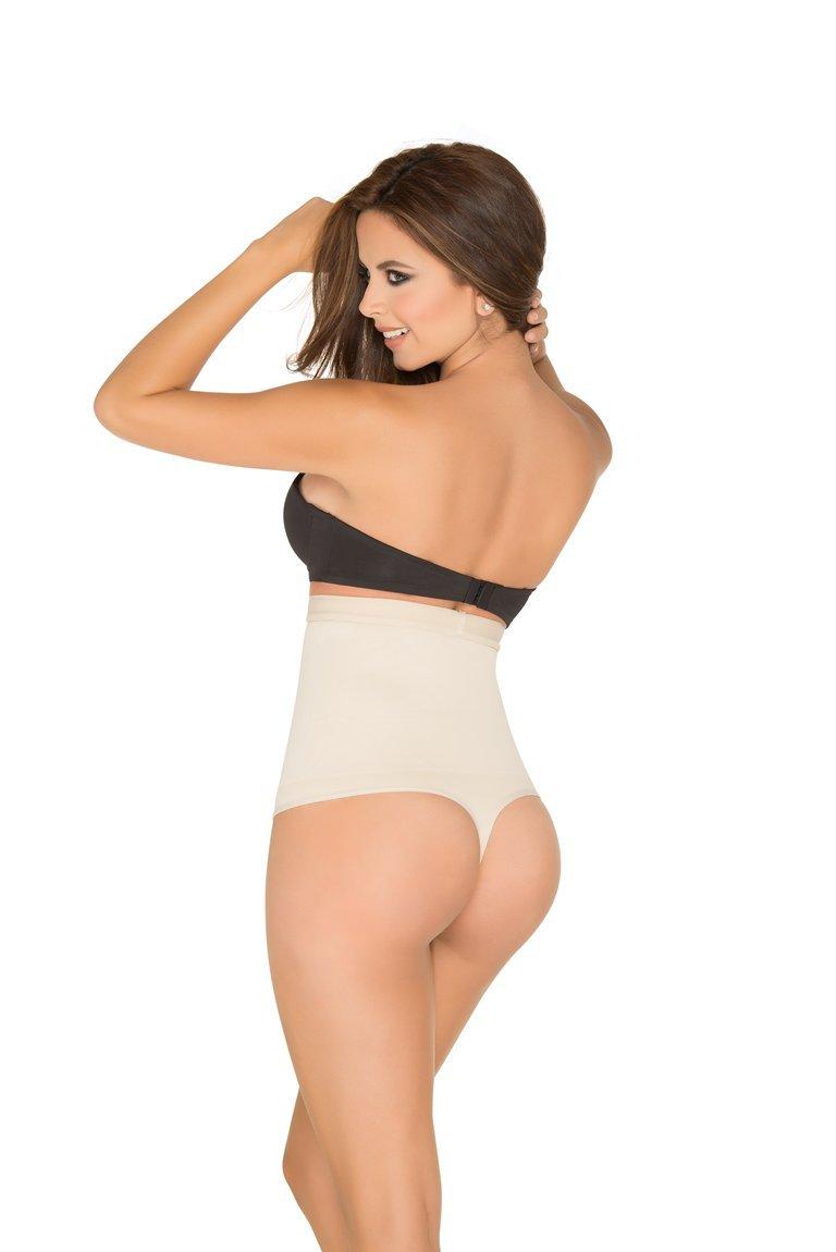 Lingerie Shapewear For Women Slimming Discretely Controls Abdomen Thong Type