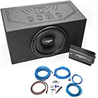 Skar Audio 15 VVX-15v3 1200 Watt Complete Bass Package - Includes Subwoofer in Ported Armor Coated Box with Amplifier