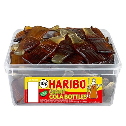 Haribo Giant Cola Bottles (Tub of 60)