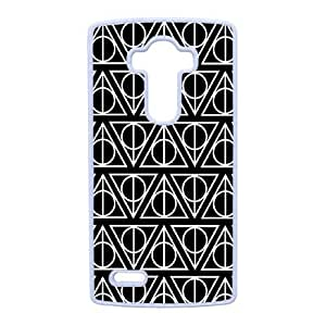 Personalized Durable Cases LG G4 Cell Phone Case White Deathly Hallows Orvkw Protection Cover