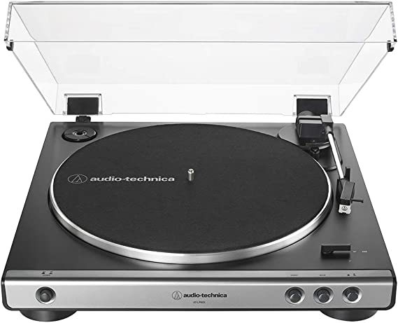 Audio-Technica AT-LP60X-GM Fully Automatic Belt-Drive Stereo Turntable
