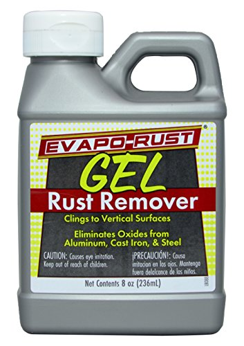 Evapo-Rust GEL Rust Remover Removes Rust and Rust Stains from Most Surfaces, 8oz ()