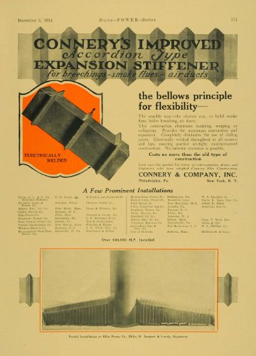 1924-ad-connery-accordion-expansion-stiffener-welding-original-print-ad