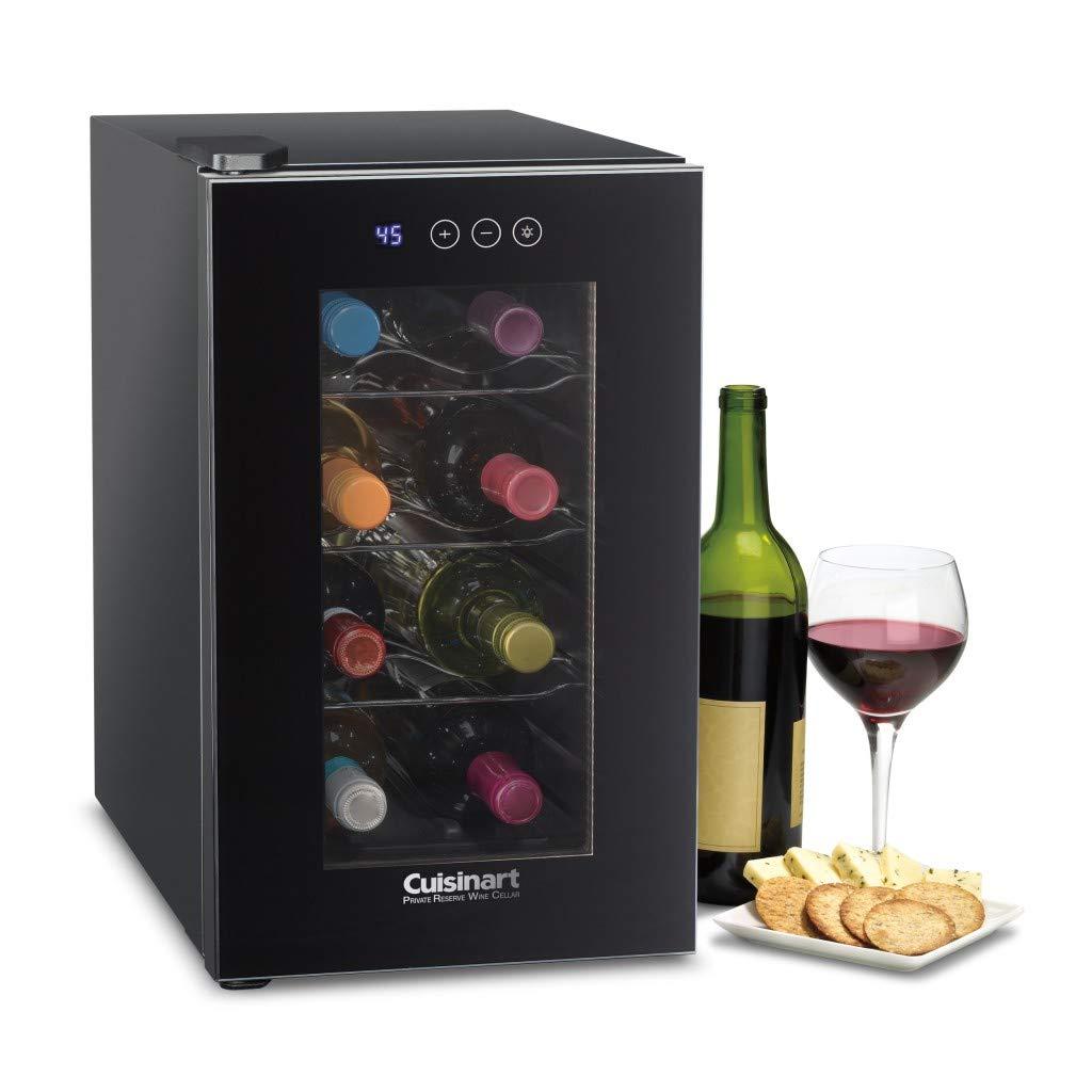 Cuisinart CWC-800CE 8 Bottle Private Reserve Wine Cellar Black