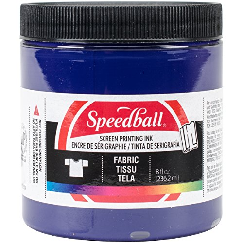 Speedball Art Products Fabric Screen Printing Ink, 8-Ounce, Violet