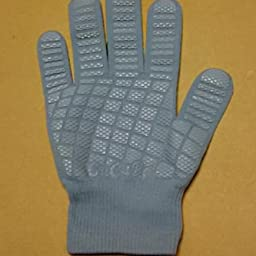 Amazon Cucura キュキュラ すべり止め付軍手 グレー Cucura キュキュラ 炊事 掃除用ゴム手袋