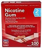 Rite Aid Nicotine Gum, Coated Cinnamon Flavor, 2 mg