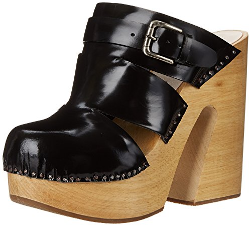 Rachel Comey Womens Fiero Mule Black Satinado