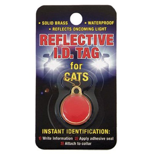 Coastal Pet 45000 A REDCAT Cat Reference ID Tag