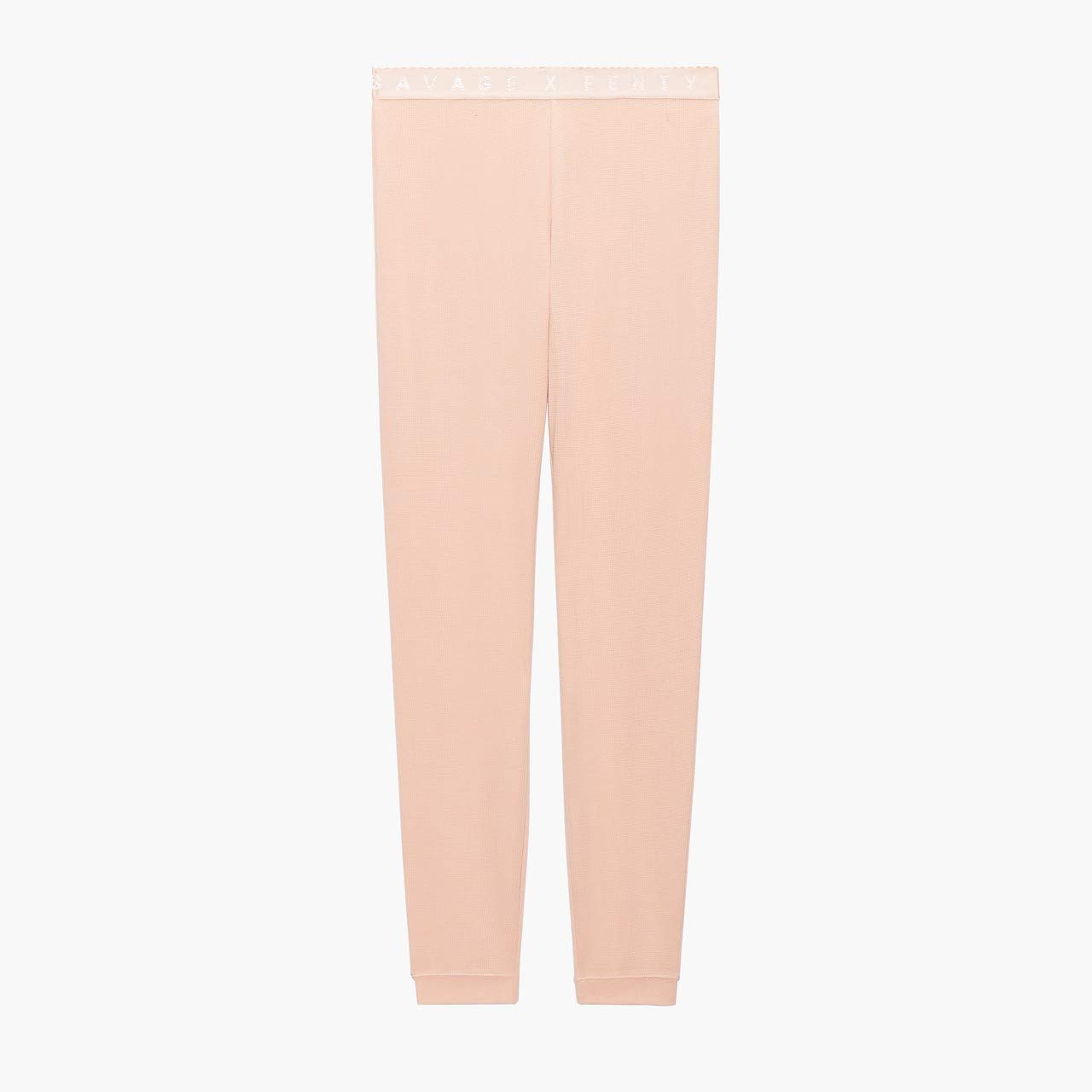 Savage X Fenty Women's Reg Savage X Thermal Pant, Naked Pink Rose, X-Large by Savage X Fenty