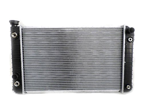 Radiator - Pacific Best Inc For/Fit 204 84-88 Chevrolet S10 S15 Blazer Jimmy V6 2.8L WITH External Oil Cooler Plastic Tank Aluminum Core 2-Row