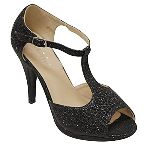 Women's Rhinestone Shoes: Amazon.com