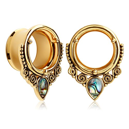 00g stainless steel plugs - 2